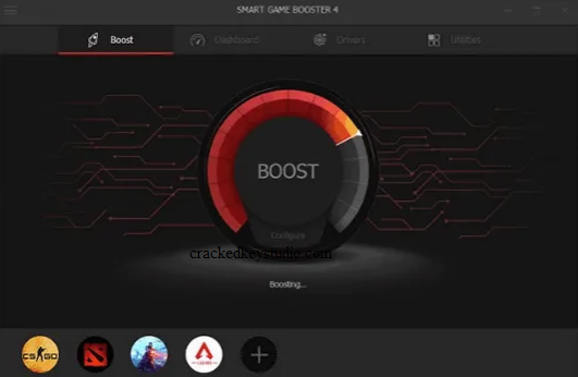 Smart Game Booster Key